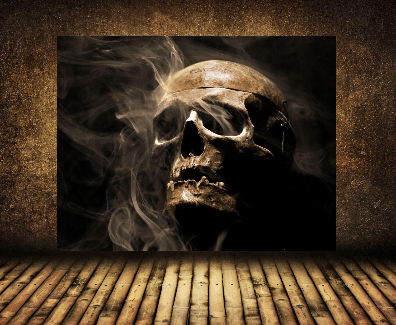 xxl poster fototapete tapete vlies gothic totenkopf ebay. Black Bedroom Furniture Sets. Home Design Ideas